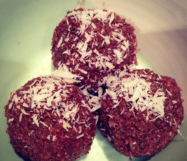 Raw Hazelnut, Tahini + Cocoa Orbs