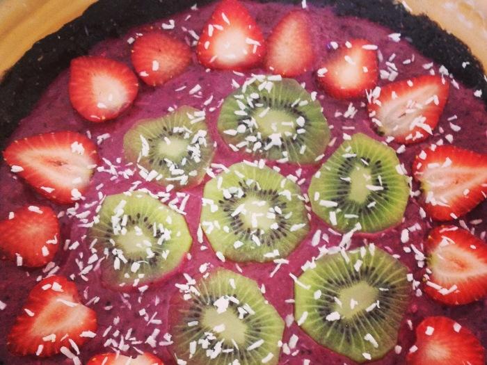 Raw Very Berry Pie