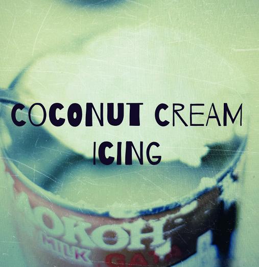 Coconut Cream Icing