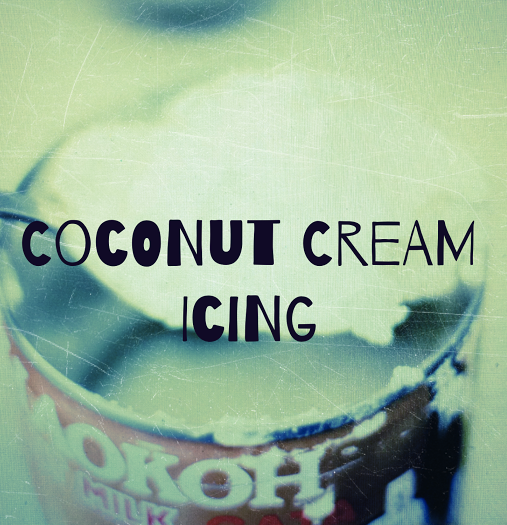 Coconut {Dream} Cream Icing