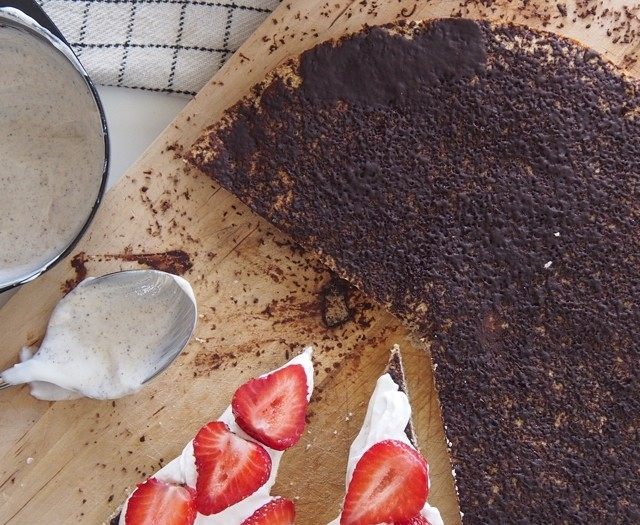 Gluten Free: Beetroot, Quinoa + Cocoa Cake