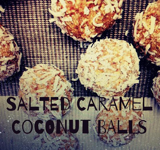 Salted Caramel + Coconut Balls