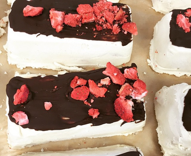 Creamy Coconut Bliss Bars