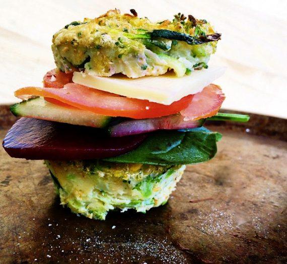 Kitchen Sink Egg Muffin Breakfast Sandwich