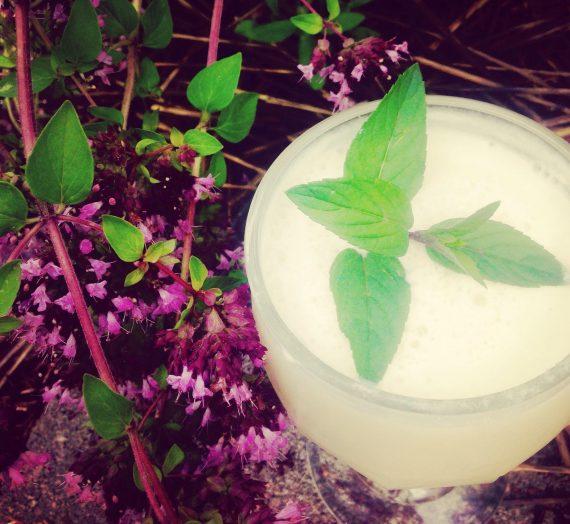 Coconut + Mint Lemonade
