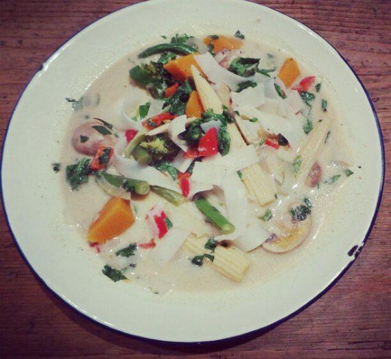 Green Thai Curry Soup