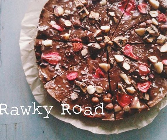 Rawky Road Cheesecake